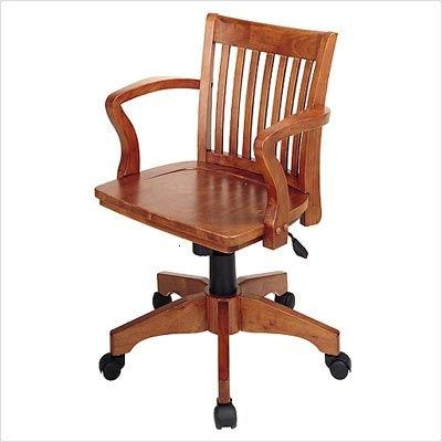 wood executive office chair